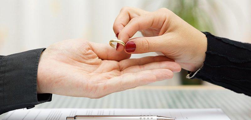 развод, расторжение брака